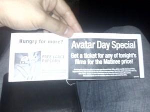 AVATAR coupon